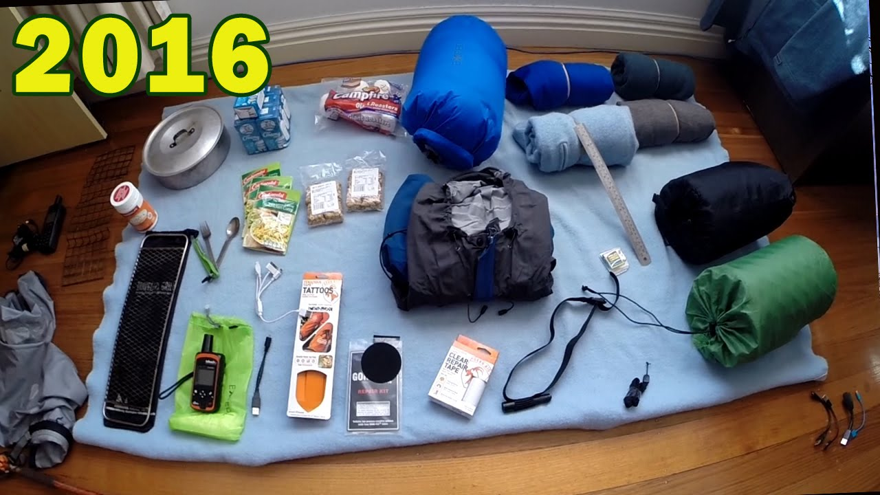 New Camping Equipment 2016
