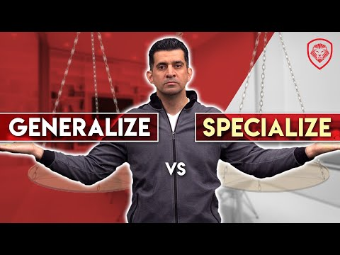 The Best Time to Specialize or to Generalize