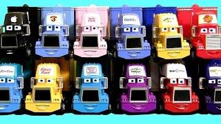 12 Custom Cars Trucks Haulers Collection 101 Mack, Easy Idle, Mac I-Car, N2O Cola Disney Pixar