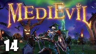 Azyl i nawiedzony zamek #14 MediEvil PS4   PL   Gameplay   Zagrajmy w
