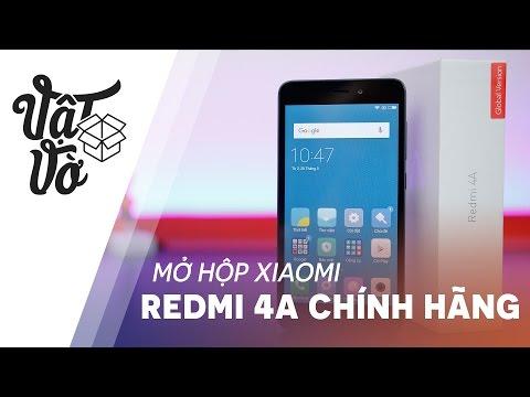 Vật Vờ| Xiaomi Redmi 4A chính hãng giá quá tốt, tặng cả pin dự phòng