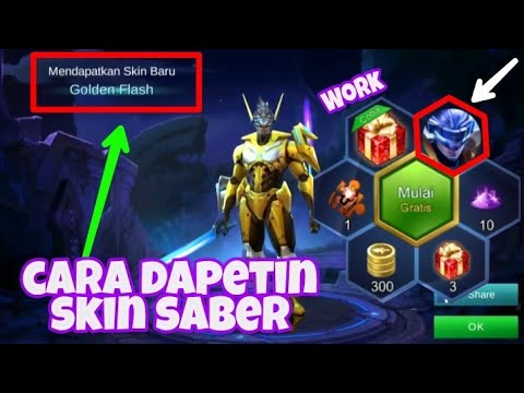 TRICK LUCKY SPIN SKIN HERO SABER - MOBILE LEGEND (INDONESIA)