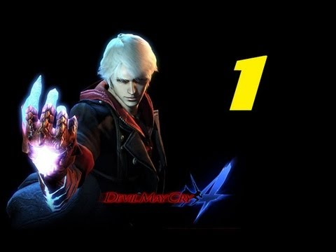 Devil May Cry 4: Part 1 - Farewell Dante