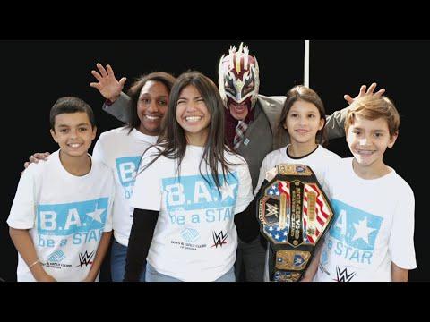 WWE celebrates National Boys & Girls Club Week