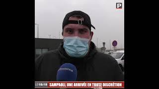 Jorge Sampaoli, le nouvel entraîneur de l'OM, est arrivé à Marseille