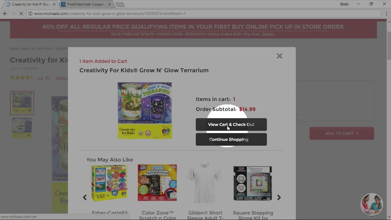 How To Use Michaels Canada Coupons Youtube