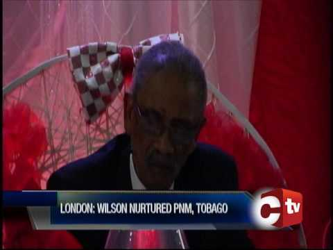 Former PNM Tobago Chair Neil Wilson Honoured