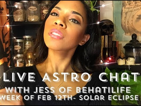 LIVE ASTRO CHAT- Solar Eclipse, Soulmates, Twinflames, & More!