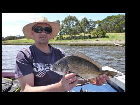 Fishing The Derwent River, Tasmania