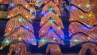 How to - Dremel Carve a Fence Board Christmas Tree 2020