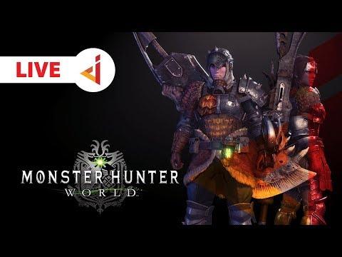 LIVE ON TWICTH !! UDAH BAGUS SEKARANG !!   Monster Hunter : World Indonesia 8