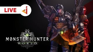 LIVE ON TWICTH !! UDAH BAGUS SEKARANG !! -  Monster Hunter : World [Indonesia] #8