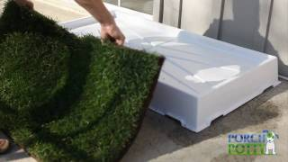 Using Grass With The Porch Potty - Dog Potty