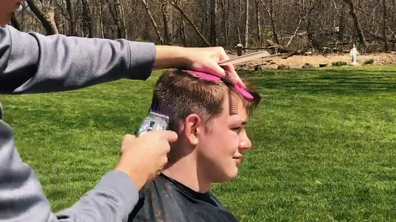 DIY At Home Boys Taper Haircut | Andis
