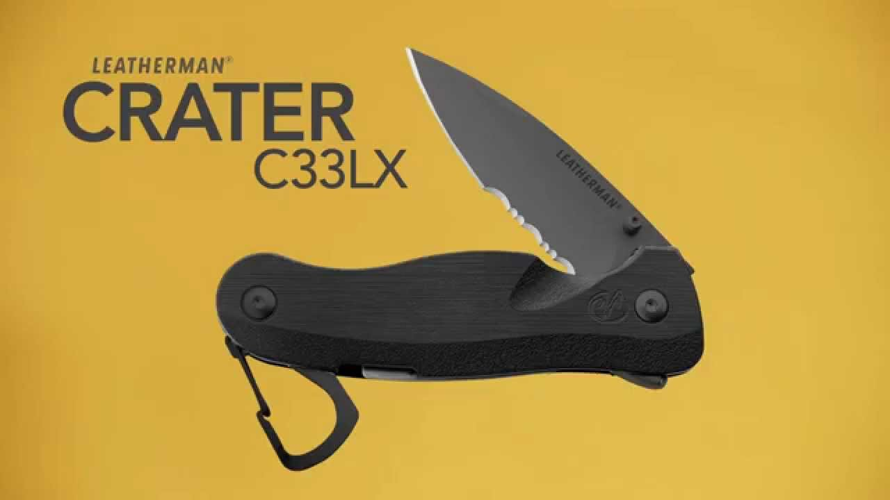 Leatherman Crater C33LX