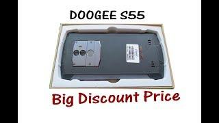 DOOGEE S55 waterproof Smartphone  S55 5.5 inch IP68 Review Price
