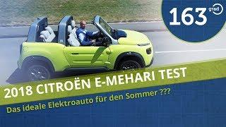Citroen eMehari im Test - Das ideale Sommerauto ??? - 163 testet den Elektro Mehari (4k)