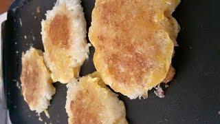 C/w Nana: Lao Sticky Rice Cakes (ເຂົ້າຈີ່ == Khao Jee)
