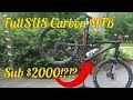 Chinese Carbon Full Suspension 29er | Ican Bike Check