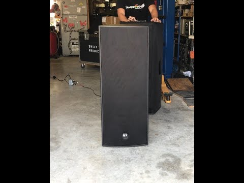RCF 4PRO 5031-A dual 15 Active Loudspeaker Review