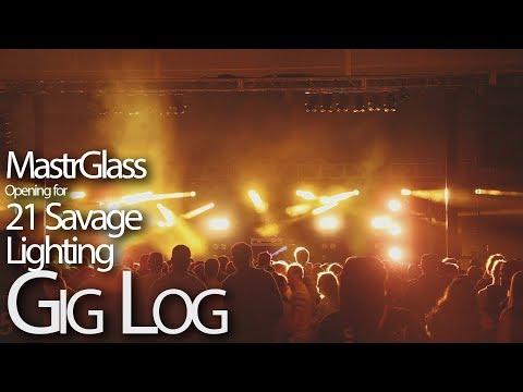 MastrGlass Opening 21 Savage @ York College April 2018 Lighting Gig Log