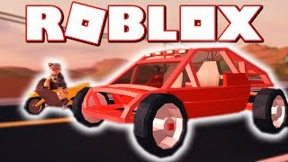 ATV DUNE BUGGY VS MOTORCYCLE!! WHO IS FASTER?! (Roblox Jailbreak)