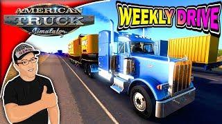 American Truck Simulator Peterbilt 378 Weekly Drive