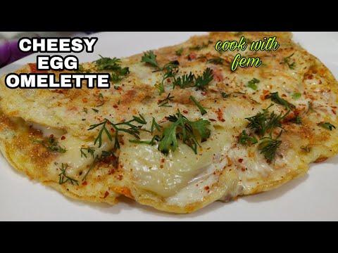 Cheesy Egg Omelette | Omelet Ki Aisi Zabardast Recipe Apne Kabhi Nahi Khayi Hogi | Cook With Fem