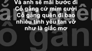 NƠI ANH KHÔNG THUỘC VỀ (NO LOVE NO LIFE) - 365 daband (lyrics)