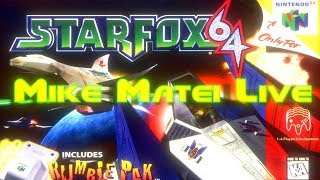 Star Fox 64 - Mike Matei Live