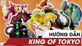 HƯỚNG DẪN CHƠI KING OF TOKYO