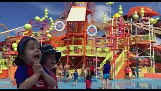 Twins Day out on the Gold Coast; Sand sculptures, Dreamworld & Water Park