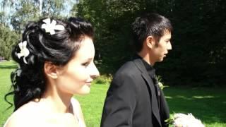 Прикольная свадьба.  Видеосъёмка на свадьбу 9153299688 владимир.