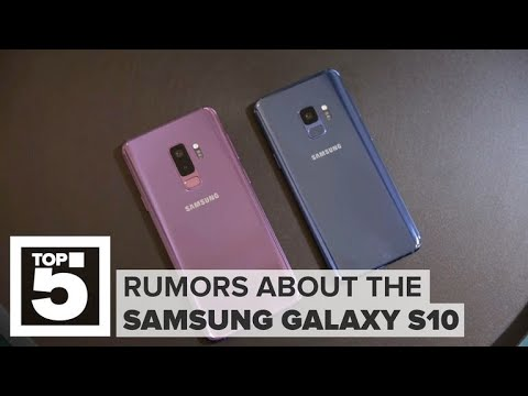 Samsung Galaxy S10: The most interesting rumors (CNET Top 5)