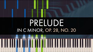 Frédéric Chopin - Prelude in C Minor, Op. 28, No. 20