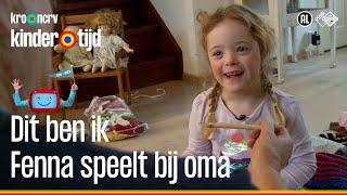 Fenna speelt bij oma (Kindertijd KRO-NCRV)