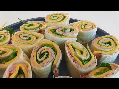 Betty's Ham and Cheese Tortilla Rollups