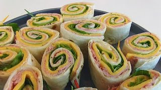 Betty's Ham And Cheese Tortilla Rollups
