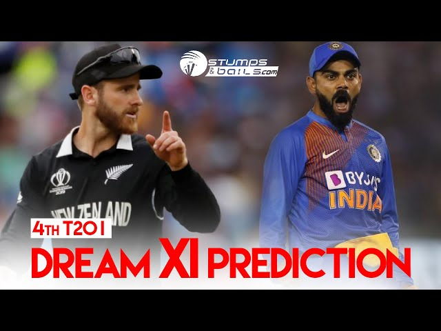 IND vs NZ Dream11 Team | India vs New Zealand 4th T20I Match Dream11 Team Prediction Today Match