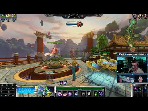 Thoth 3v3 Ranked W/ SoloDoubleJ & Inbowned - Smite