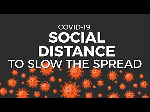 Coronavirus: Social distance