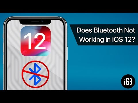 How to Fix Bluetooth Not Working on iPhone Running iOS 12