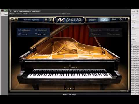 XLN Audio Addictive Keys First Look Grand Piano Review Demo