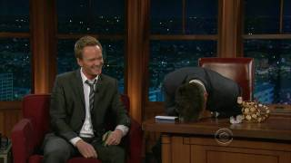 Neil Patrick Harris Wins Craig Ferguson Mouth Organ