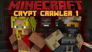 Dansk Minecraft: FANGET I GROTTEN!?