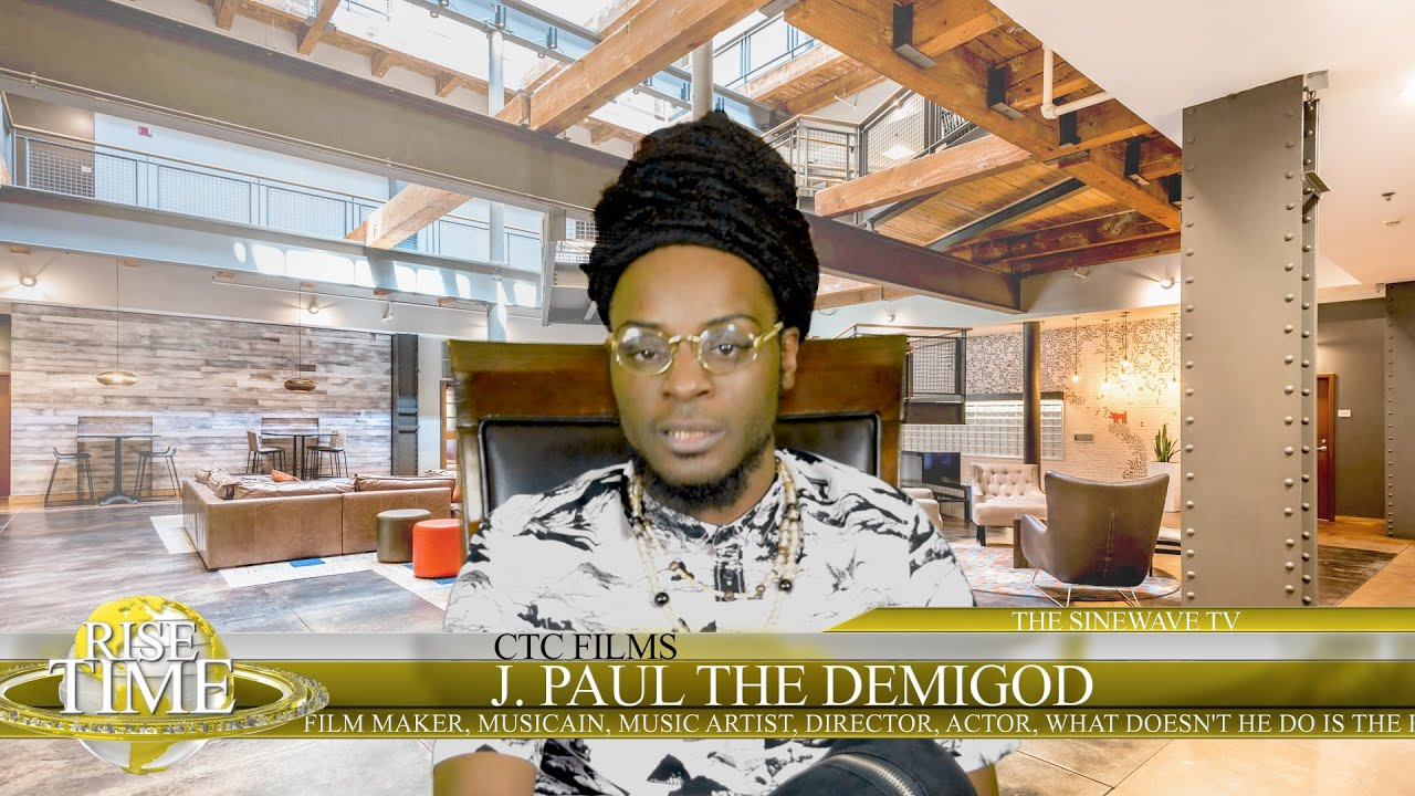 J. Paul The Demigod interview pt  1