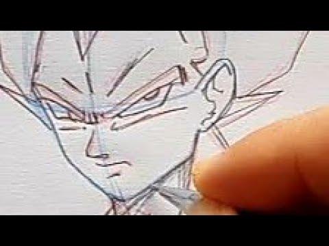 Comment Dessiner Vegeta Dragon Ball Super By Manga Drawing Coding