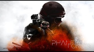 PROFANE ROBLOX PHANTOM FORCES LIVE! 🔴 (Let's start everything from scratch)