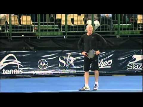 John McEnroe v Brad Gilbert highlights: World Tennis Challenge Adelaide 2012