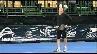 John McEnroe v Brad Gilbert highlights: World Tennis Challenge Adelaide 2012